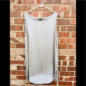 Eileen Fisher silver top